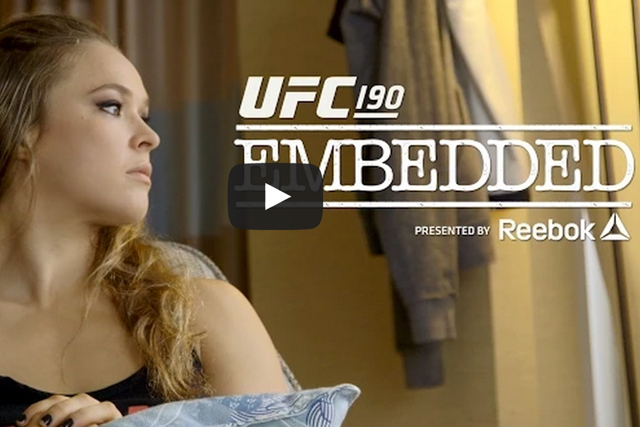 UFC 190: watch episode 1 of the embedded series
