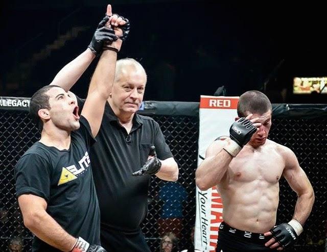 Tanquinho no MMA por Mike Calimbas