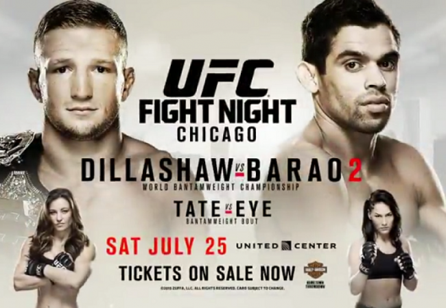 UFC Chicago: get ready for the rematch watching Barão vs. Dillashaw I