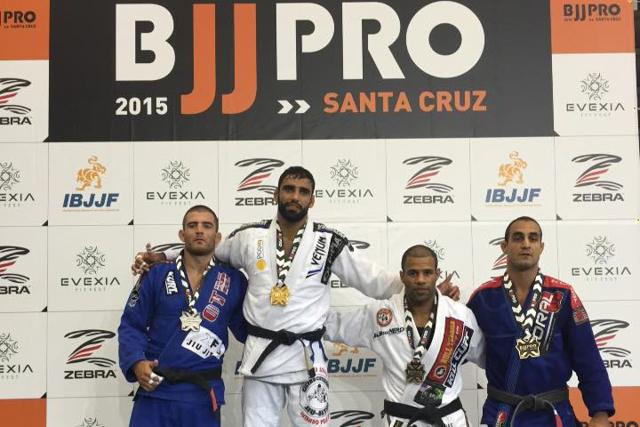 Leandro Lo at the Santa Cruz BJJ Pro