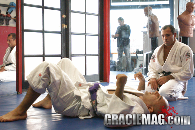 Royce Gracie. Photo by Luca Atalla