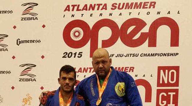 Atlanta Open de Jiu-Jitsu: Carlos Faria vence absoluto