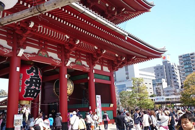 Temple at Tokyo, Japan