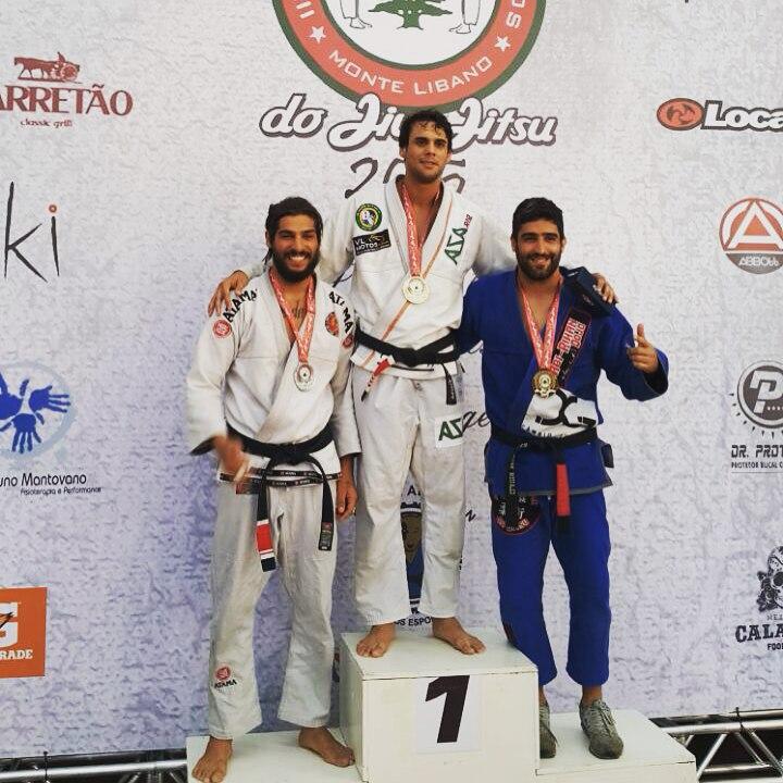 David Vieira foi campeão. Foto: Arquivo Pessoal