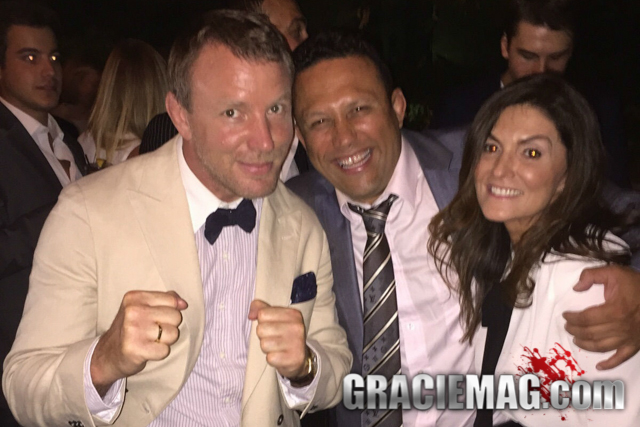 Renzo Gracie promotes movie director Guy Ritchie to black belt ranking