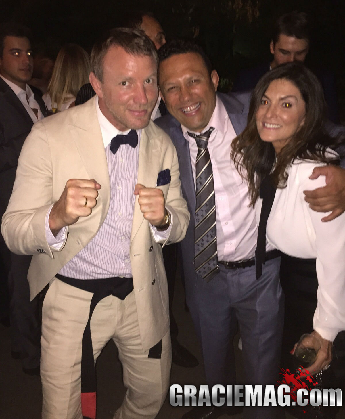 Guy Ritchie and Renzo Gracie
