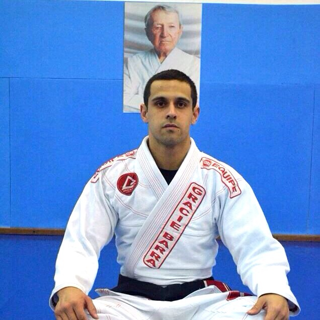 Arthur Turô, professor da Gracie Barra. Foto: divulgação