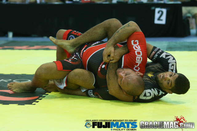 Galvão celebrates victory at the 2015 ADCC and explains his trademark back take