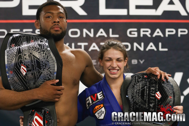 Tim Spriggs, Mackenzie Dern are the champions of the Five Grappling Super League