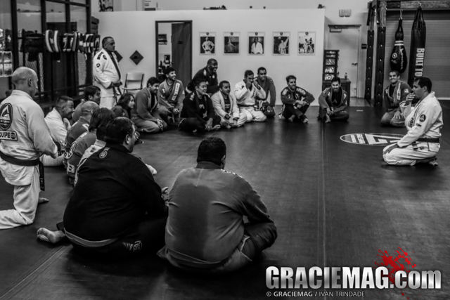 Roger Gracie seminar at Gracie Barra Fullerton