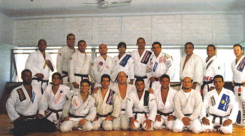 O famigerado Carlson Gracie Team Foto Divulgacao