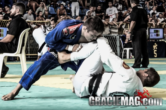 Alexandre Vieira at the 2015 Rio Open. Photo from Video