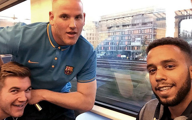 One of the US Military members who stopped a terrorist on French train is a Jiu-Jitsu white belt
