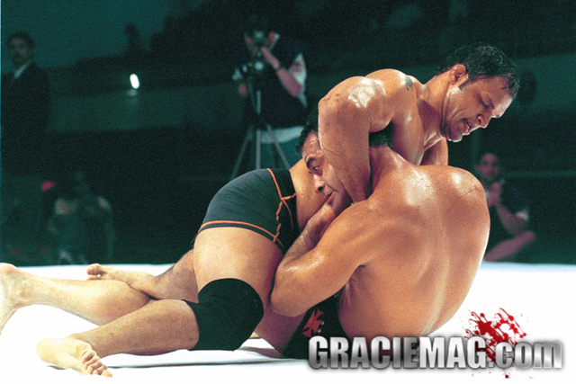Mark Kerr vs. Zé Mario Sperry at the 2001 ADCC