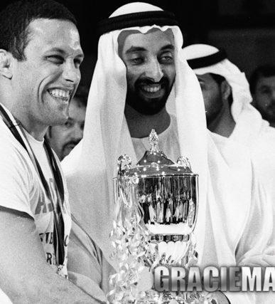 Renzo Gracie and Sheik Tahnoon. Photo by Luca Atalla