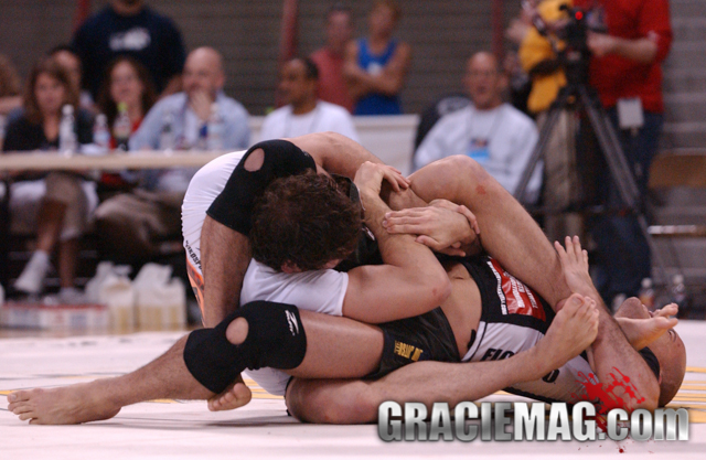 Roger vs. Xande at the 2005 ADCC