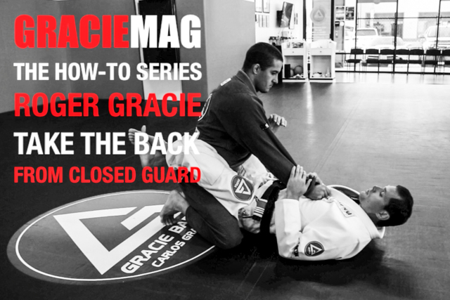HOW-TO: Roger Gracie teaches one of his favorite ways to get to the opponent's back