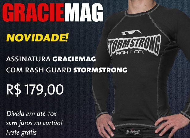 Assinatura GM agora com rash guard StormStrong