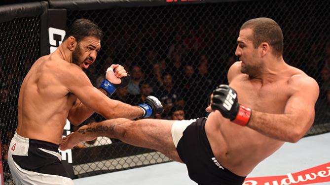 Shogun venceu Minotouro num lutão. Foto: UFC
