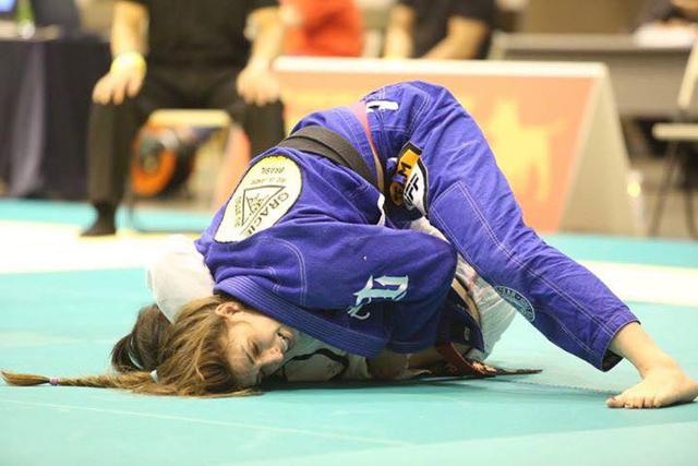 Mackenzie Dern at the 2015 Asian Open. Photo by Kinya Hashimoto/ Jiu-Jitsu Nerd