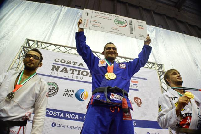 Costa Rica National Pro de Jiu-Jitsu: Diego Herzog conquista ouro absoluto