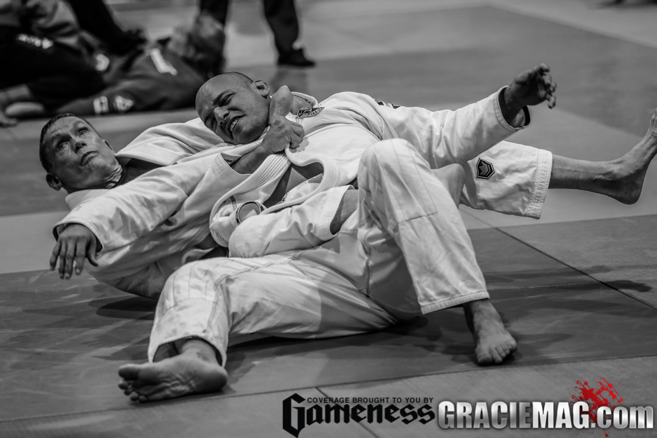 7. Russell Redenbaugh said thanks to Jiu-Jitsu in an exhibition match with Xande Ribeiro and inspired the crowd with his example of determination.