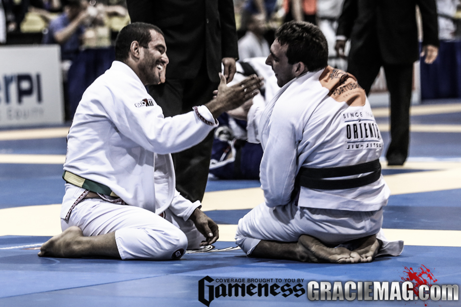 1. One second after the match is over, that guy is no longer my opponent, but my friend.