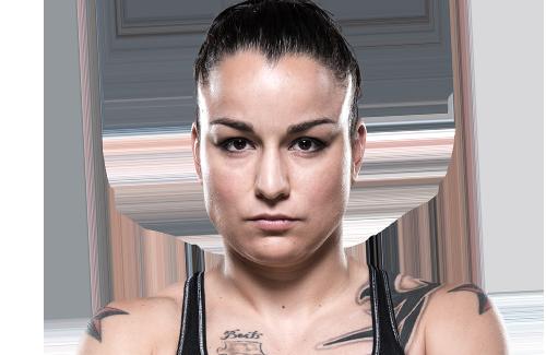 O mata-leão de Raquel Pennington sobre Jéssica Bate Estaca no UFC 191