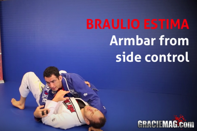 Braulio Estima teaches an armbar from side control