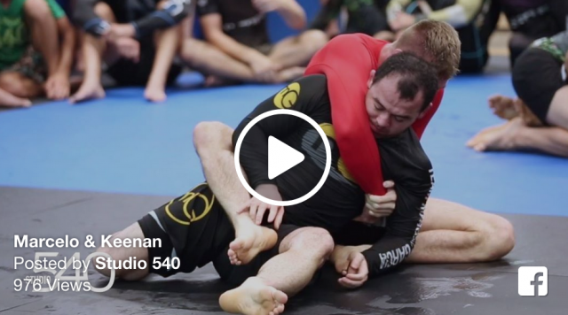 Must watch: Kennan Cornelius breaks down his roll with Marcelo Garcia