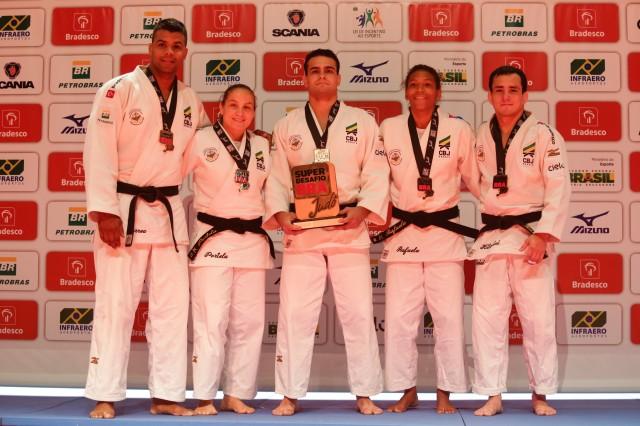 Selecao brasileira de judo goleou a Alemanha no Rio