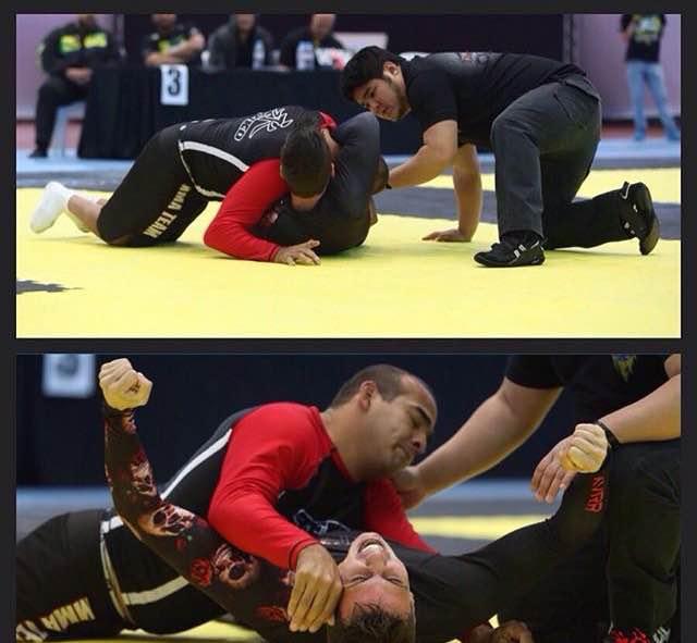 Yves Carbinatti contra Eduardo Mangaravite no ADCC 2015