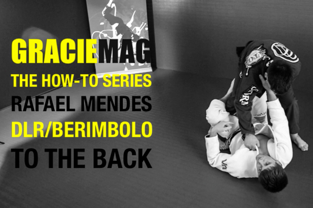 HOW-TO: Rafael Mendes teaches you to go to the back using the DLR/Berimbolo