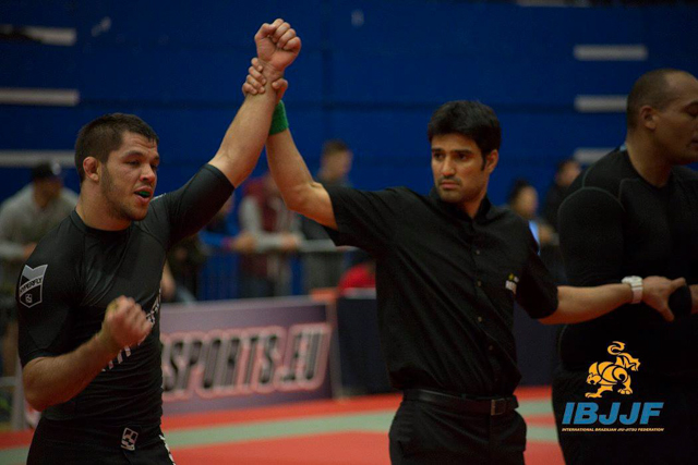 Charles Negromonte at the London Open