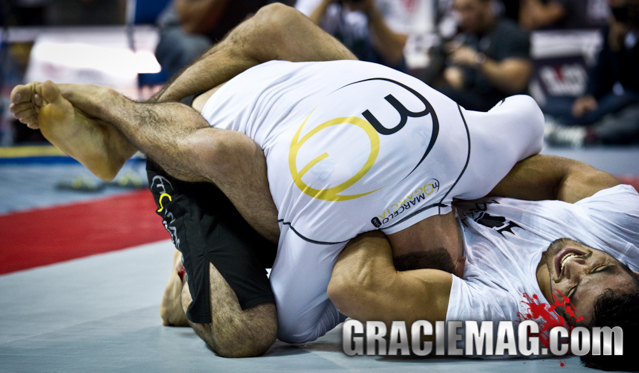 Kron Gracie vs. Marcelo Garcia at the 2011 ADCC