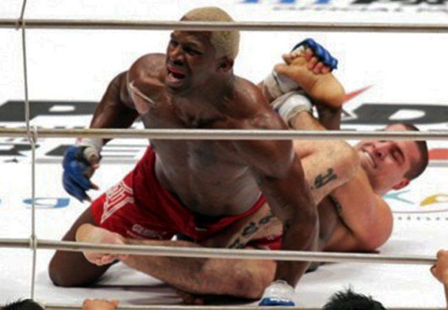 Vídeo: Relembre a primeira e única finalização de Shogun no MMA