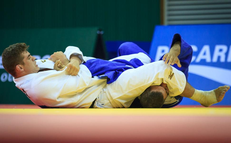 Eduardo Bettoni conquista mais uma medalha de ouro para o Brasil no judô individual. Foto: Sgt Johnson Barros