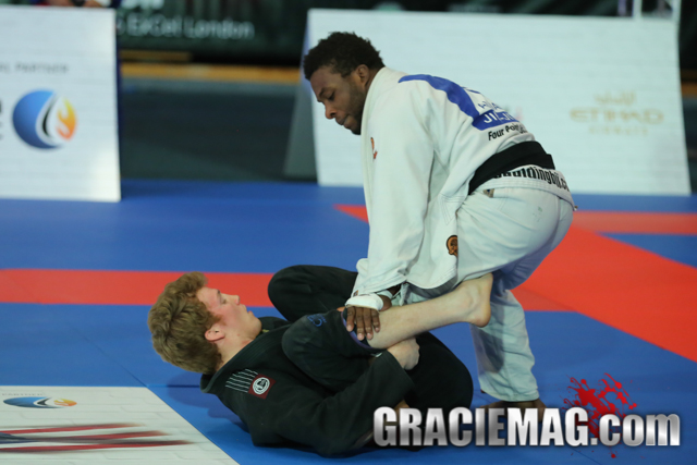 Tanner Rice teaches how to set up an armbar from the De La Riva guard