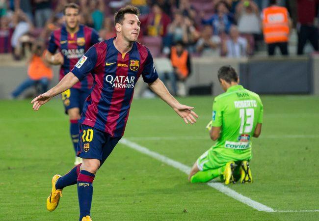 Messi em ação: o craque está no estaleiro, mas pode voltar ainda mais forte.