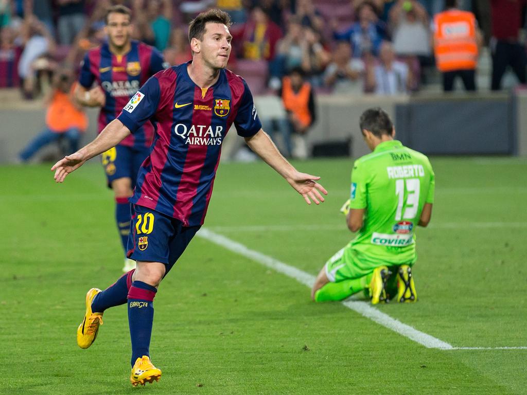 Messi em ação: o craque está no estaleiro, mas pode voltar novo em folha aos gramados. Foto: