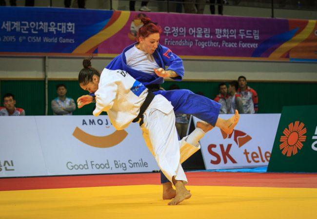 Mariana Silva e Felipe Kitadai são ouro nos 6º Jogos Mundiais Militares