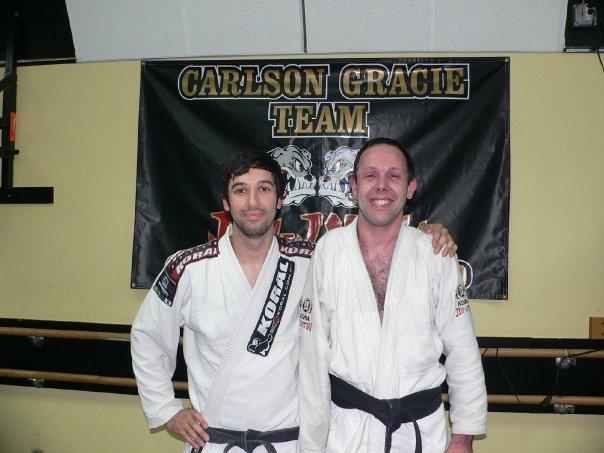 Aaron Lapointe (direita) com Eric Burdo. Foto: Divulgação
