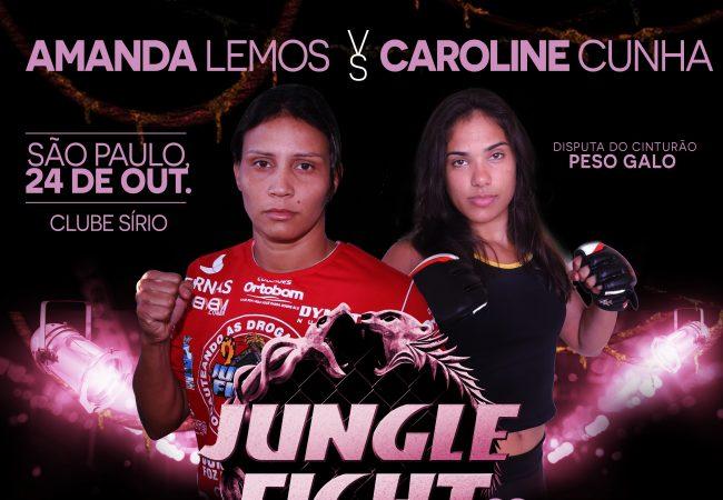 """Jungle Fight promove disputa de cinturão feminino para o """"Outubro rosa"""""""