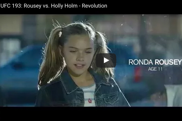UFC 193: watch the  teaser for Rousey vs. Holm that put tears in the eyes of MMA fans