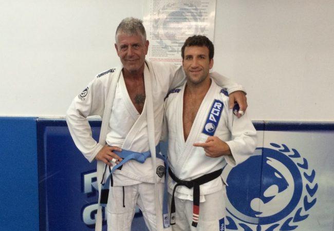 """Anthony Bourdain comenta faixa-azul de Jiu-Jitsu: """"Um dos melhores dias da minha vida"""""""