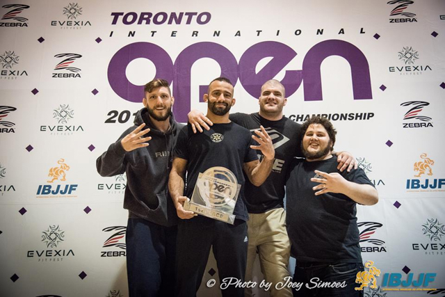 Toronto BJJ celebrates 4th Toronto Open team title