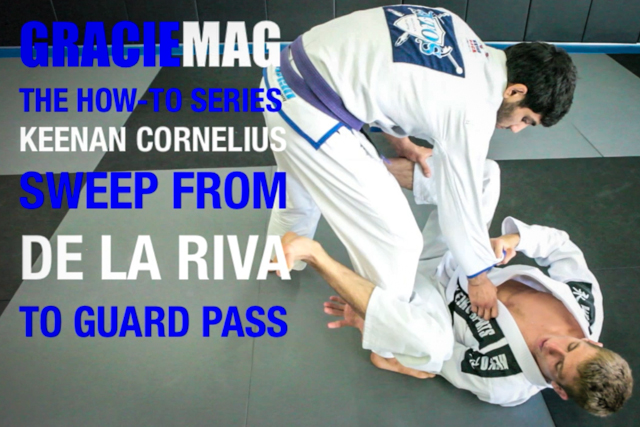 HOW-TO: Keenan goes from the DLR to a guard pass