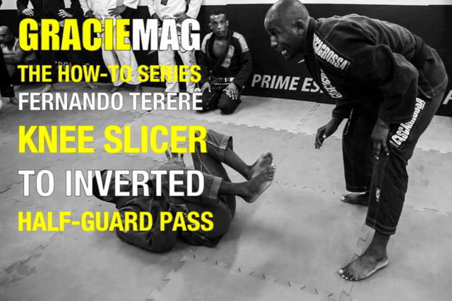 HOW-TO: Tererê teaches a knee slicer to inverted half guard pass