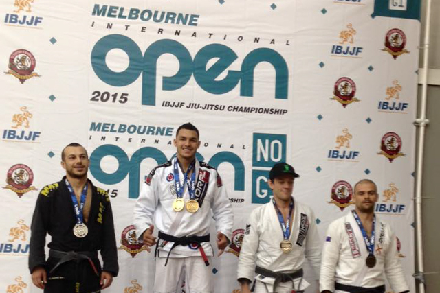 Melbourne Open: William Dias crowned black belt open class champion; other results