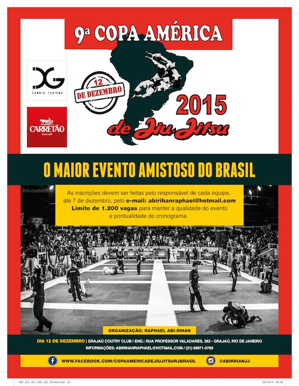 Cartaz da Copa América 2015.